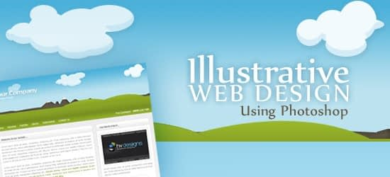 webdesign-using-photoshop